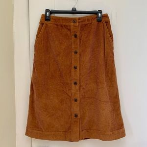 Corduroy midi skirt - GAP Size S (4-6)